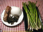 Stir Fried Asparagus with Preserved Pork