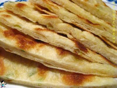发面葱油饼