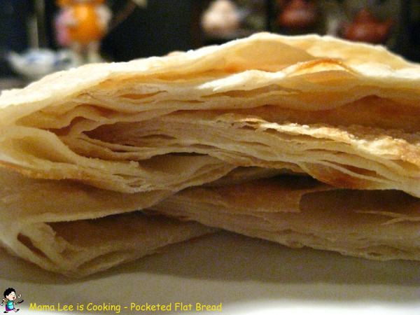 Pocketed Flat Bread