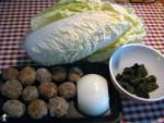 肉丸炒白菜