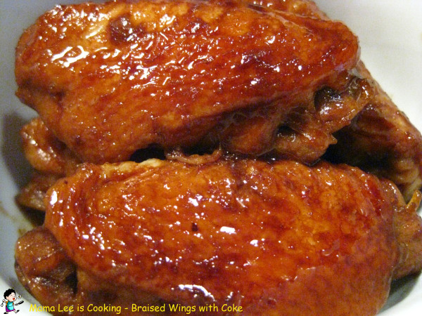 Braised Wings with Coke