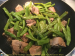 Steamed Noodle with Rib and Green Bean